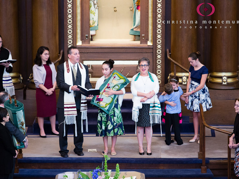 Pittsburgh Bat Mitzvah Photography Rodef Shalom