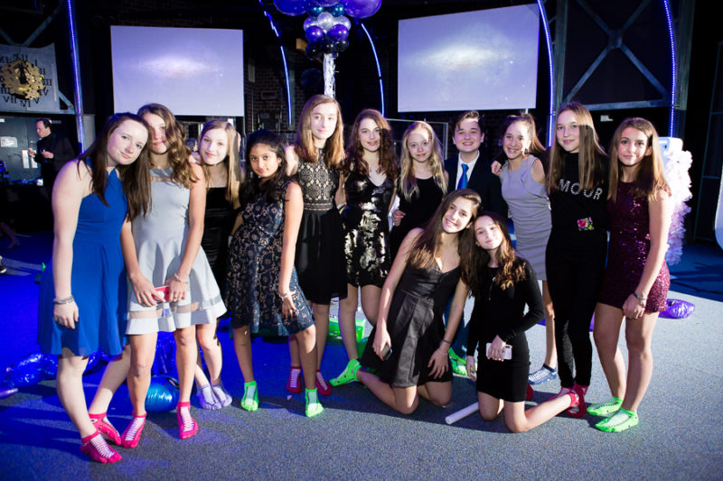 Pittsburgh Bat Mitzvah Party Carnegie Science Center Works Theater