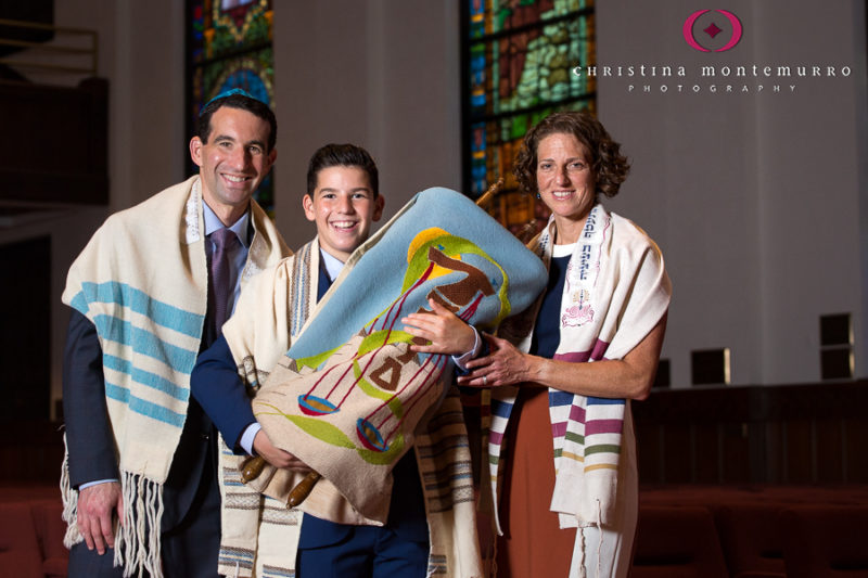 Congregation Beth Shalom Bar Mitzvah Photography