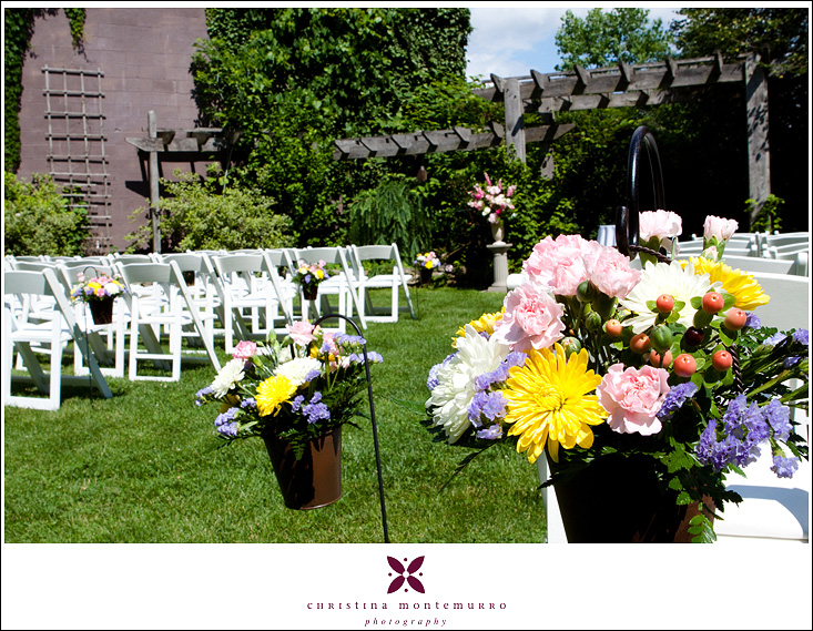 Springwood Conference Center Wedding - Outdoor Ceremony Location