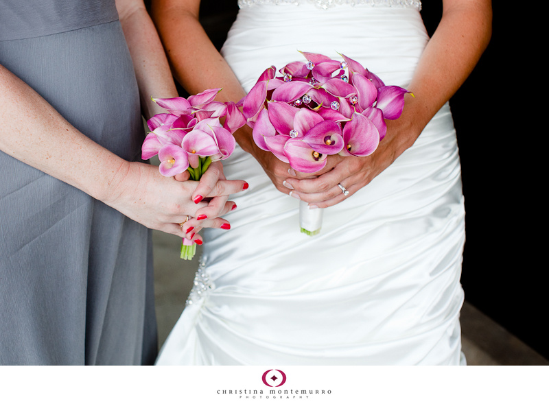 Wedding details pink calla lily bouquets and more at the Heinz History