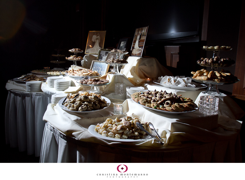 cookie table at my wedding with diy cake stands photo by the susquehanna photographic a winter wedding pinterest cookie table and weddings