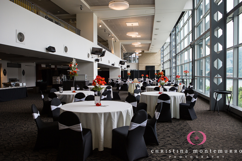 Heinz Field Pittsburgh Wedding Reception Photography-2