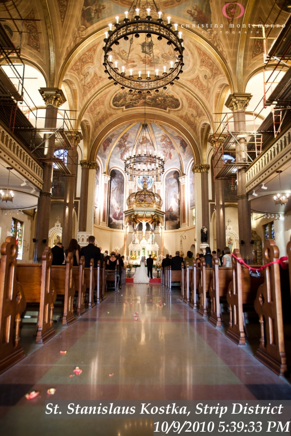 St stanislaus church weddings pittsburgh wedding for Wedding dress shops in pittsburgh pa