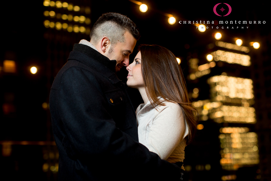 Jerri and Jacob, Part Two… Downtown Pittsburgh at Night