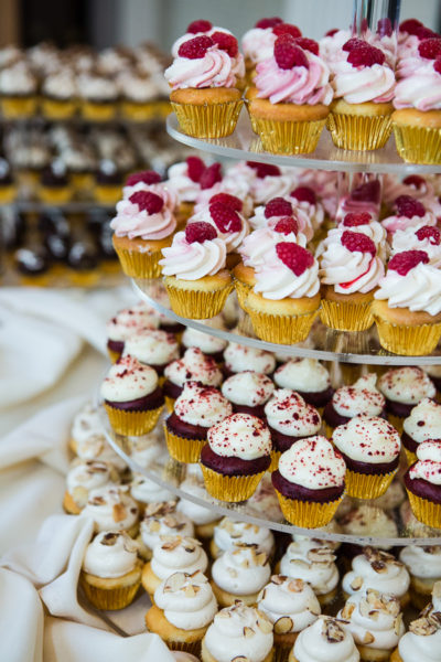 Mini Wedding Cupcakes by Bella Christie