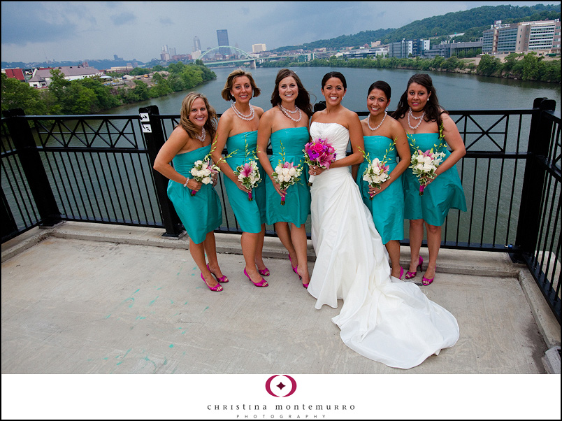 Weddings All In The Details Turquoise And Hot Pink Pittsburgh
