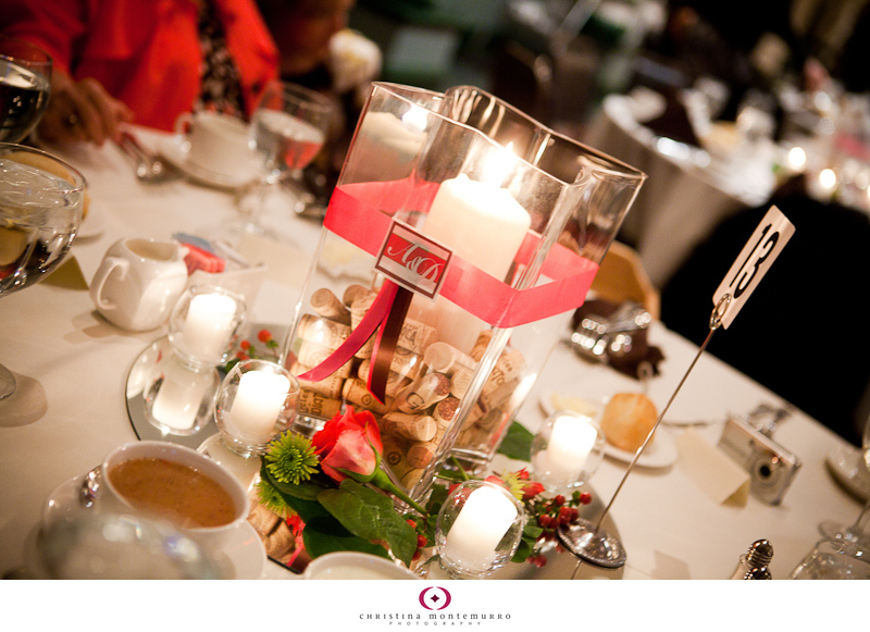 Wine themed centerpieces pittsburgh wedding photographer christina wine themed centerpieces junglespirit Image collections