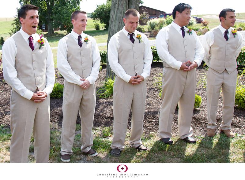 Jessie Jason Armstrong Farms Fieldstone Wedding Photography tan ...