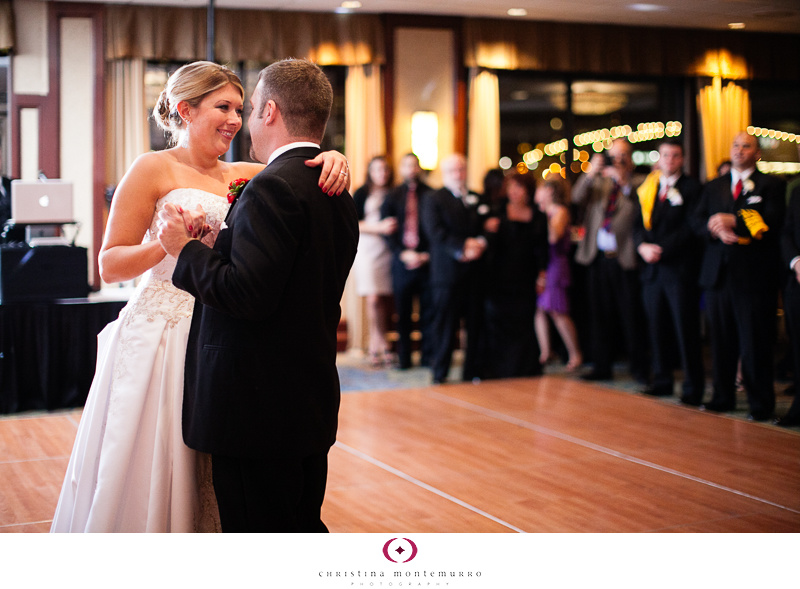Dana Brad Speeches Sheraton Station Square Pittsburgh Wedding Photography first dance