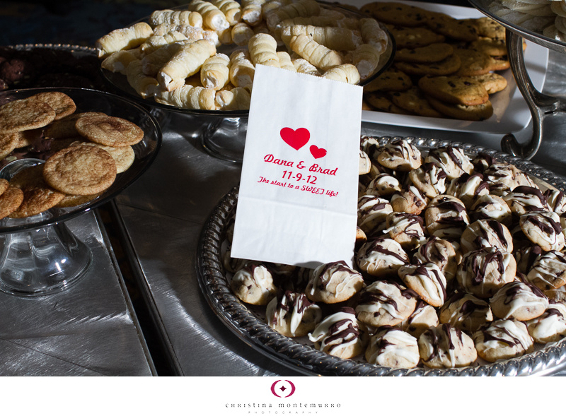 Pittsburgh Wedding Cookie Table Tradition with Red Trays and ...