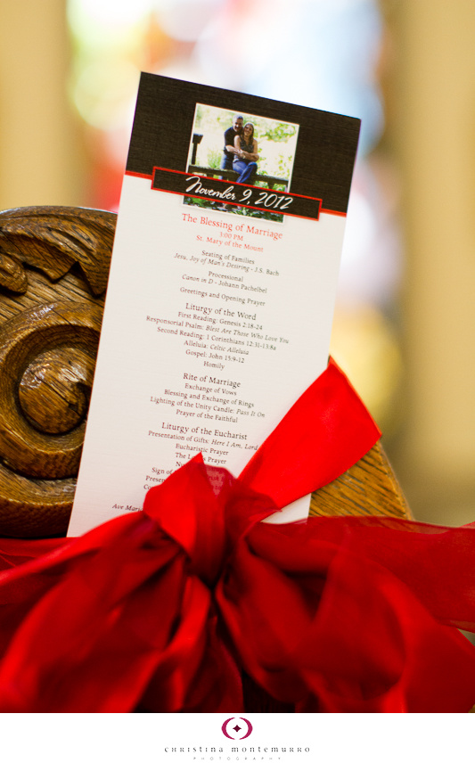 Black Red Wedding Details Black White And Red Wedding Program