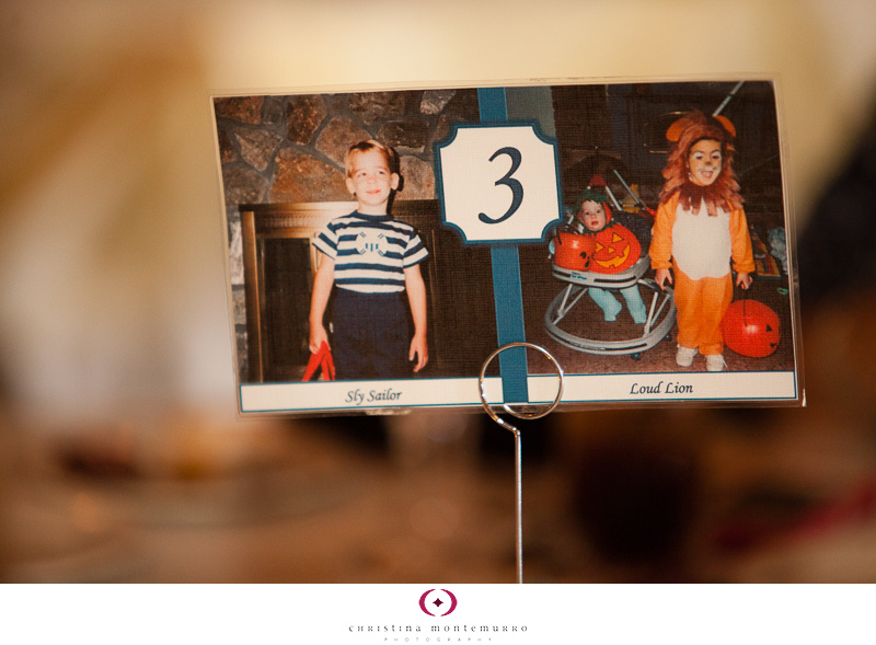 Creative Idea For Wedding Table Numbers Photos At Every
