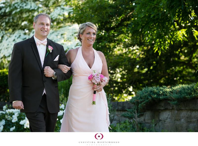 Phipps Conservatory Outdoor Garden Wedding Ceremony Reception Pittsburgh-13