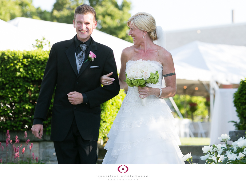 Phipps Conservatory Outdoor Garden Wedding Ceremony Reception Pittsburgh-16