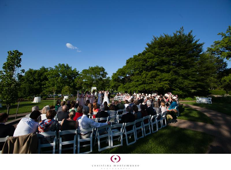 Phipps Conservatory Outdoor Garden Wedding Ceremony Reception Pittsburgh-18