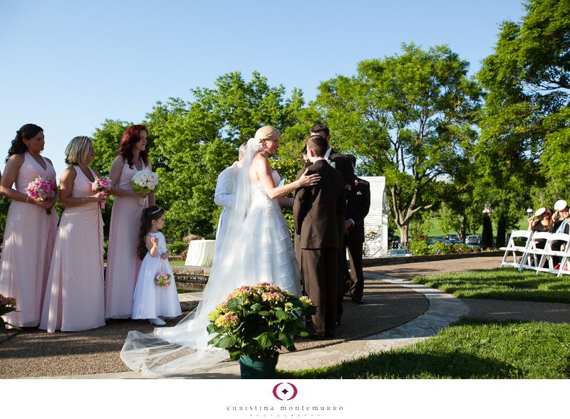 Phipps Conservatory Outdoor Garden Wedding Ceremony Reception Pittsburgh-23