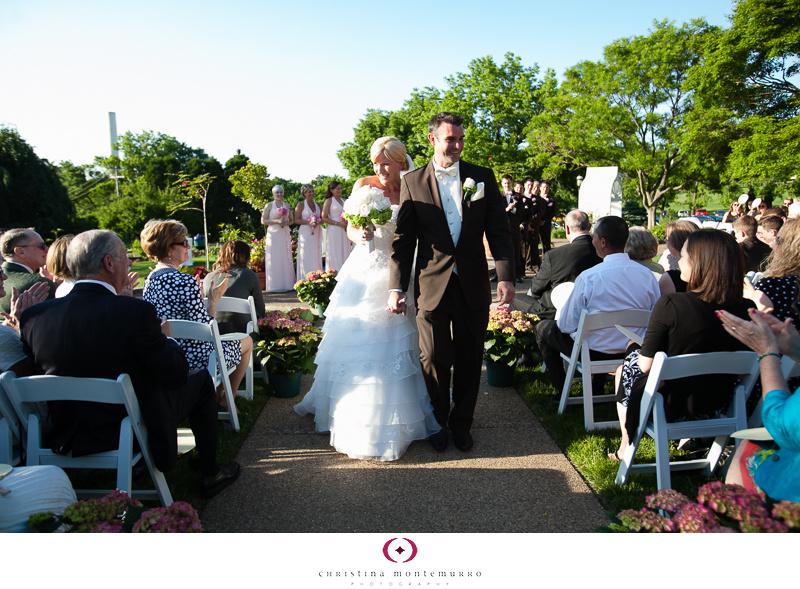 Phipps Conservatory Outdoor Garden Wedding Ceremony Reception Pittsburgh-26