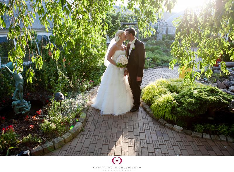 Phipps Conservatory Outdoor Garden Wedding Ceremony Reception Pittsburgh-29