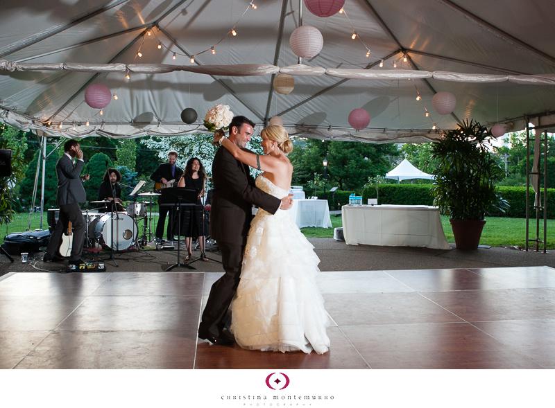 Phipps Conservatory Outdoor Garden Wedding Ceremony Reception Pittsburgh-36