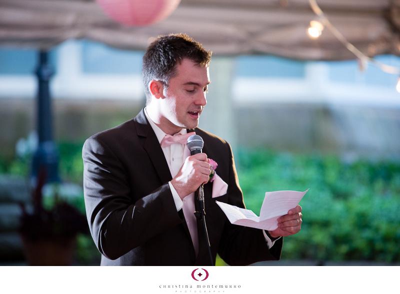 Phipps Conservatory Outdoor Garden Wedding Ceremony Reception Pittsburgh-38