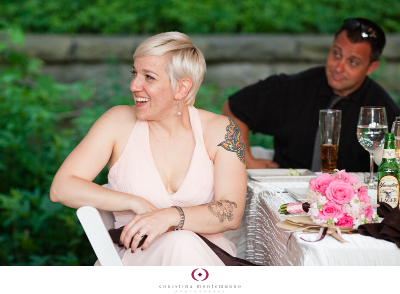 Phipps Conservatory Outdoor Garden Wedding Ceremony Reception Pittsburgh-42
