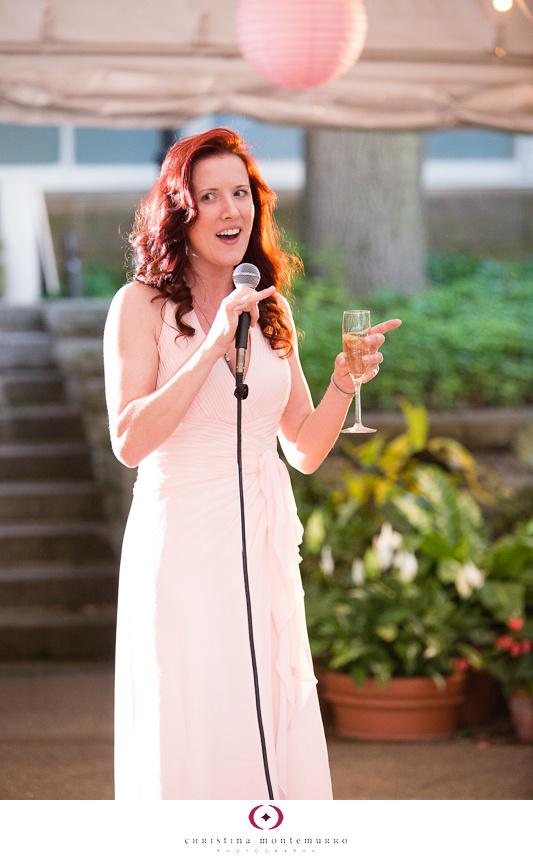 Phipps Conservatory Outdoor Garden Wedding Ceremony Reception Pittsburgh-43
