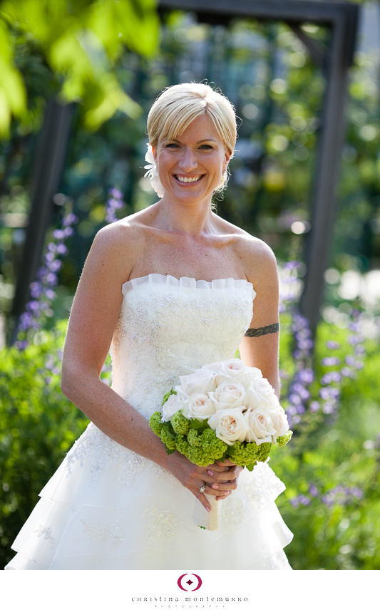 Phipps Conservatory Outdoor Garden Wedding Ceremony Reception Pittsburgh-7