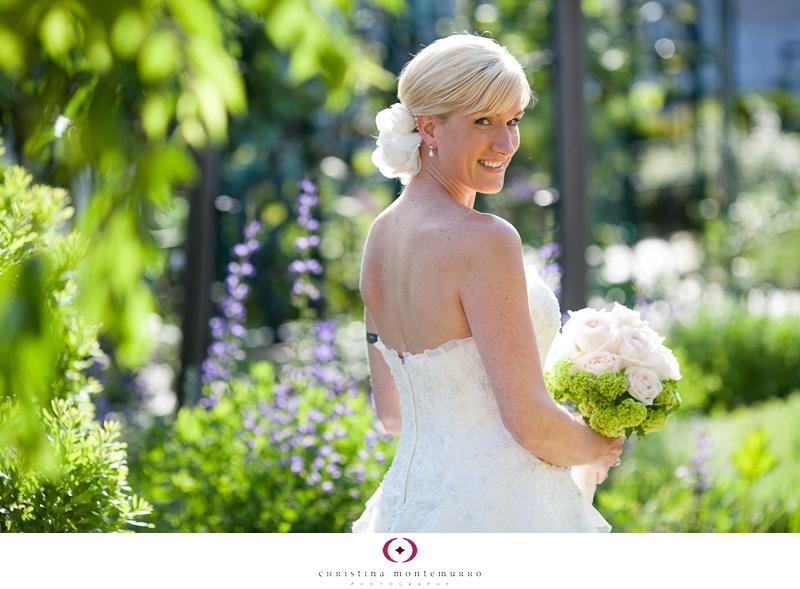 Phipps Conservatory Outdoor Garden Wedding Ceremony Reception Pittsburgh-8