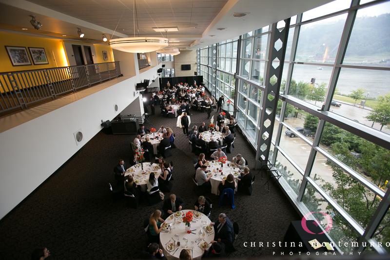 Heinz Field Pittsburgh Wedding Reception Photography-11