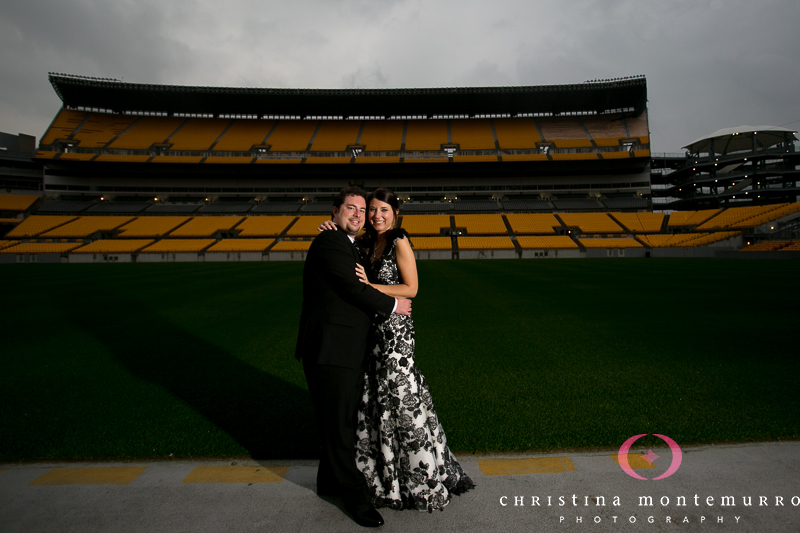 Heinz Field Pittsburgh Wedding Reception Photography-21