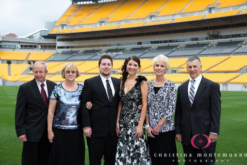 Heinz Field Pittsburgh Wedding Reception Photography-6