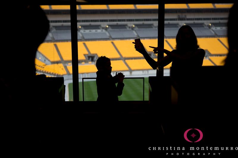 Heinz Field Pittsburgh Wedding Reception Photography-9