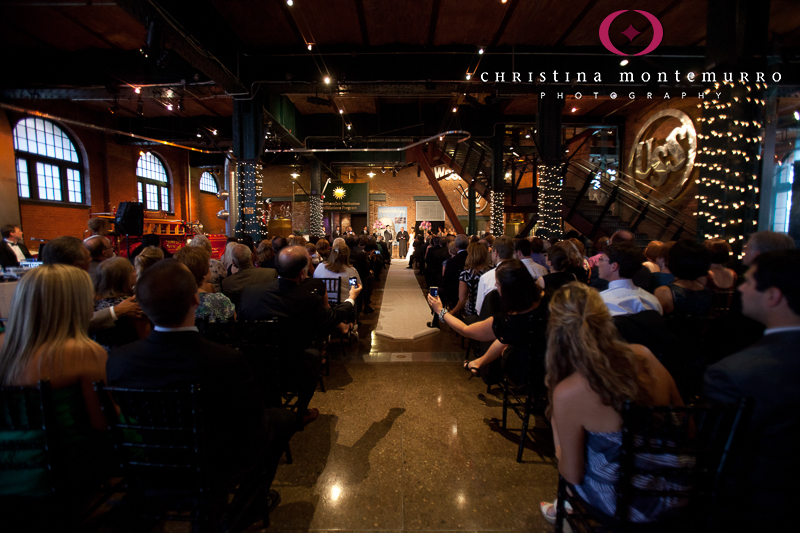 Heinz History Center Pittsburgh Great Hall Wedding Ceremony