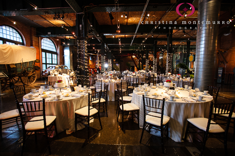 Heinz History Center Pittsburgh Great Hall Wedding Reception 11
