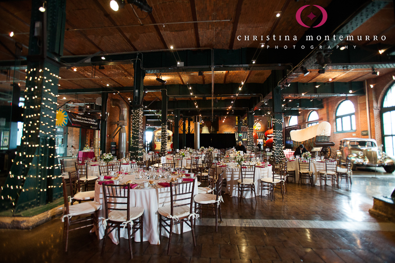 Heinz History Center Pittsburgh Great Hall Wedding Reception