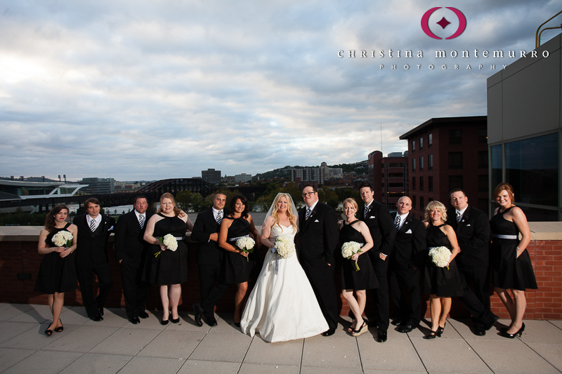 Heinz History Center Pittsburgh Mueller Center Terrace Bridal Party