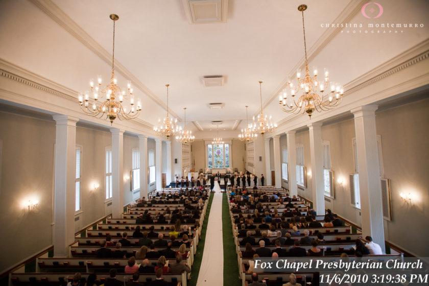 Fox Chapel Presbyterian Church Pittsburgh Wedding Photography