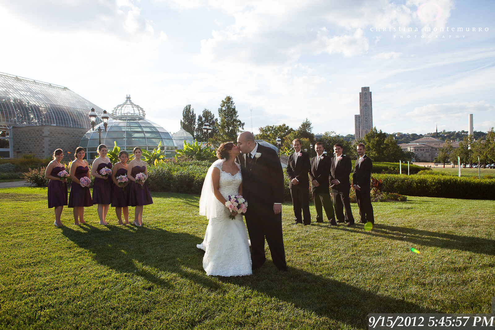 Phipps Conservatory and Botanical Garden, Oakland Pittsburgh Wedding Photography