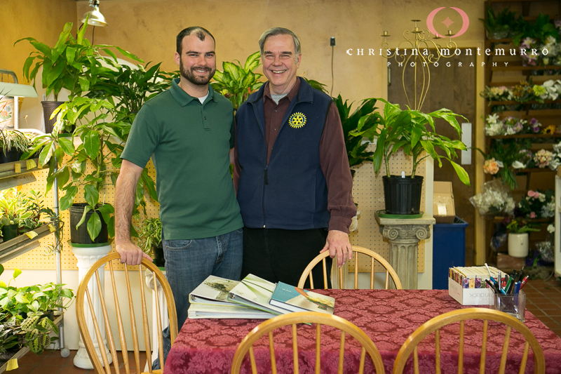 Jim and Tim Ludwig Blumengarten Pittsburgh Florist