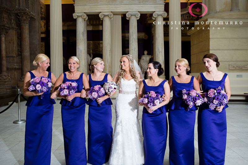 Carnegie Museum Wedding Pittsburgh - Hall of Architecture Photos