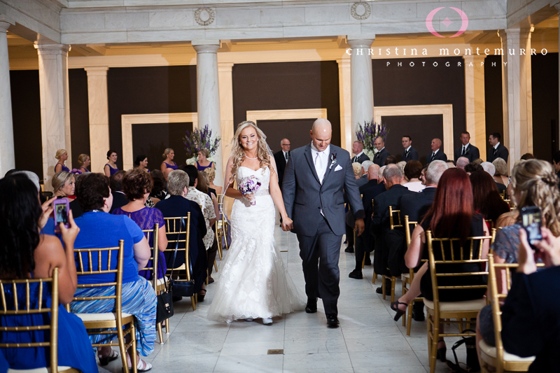 Carnegie Museum Hall of Sculpture Wedding Ceremony Pittsburgh