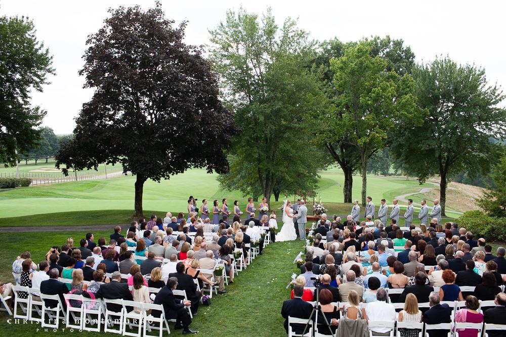 Wedding Ceremony Rebekah Matt Edgewood Country Club Pittsburgh Wedding Photography-12