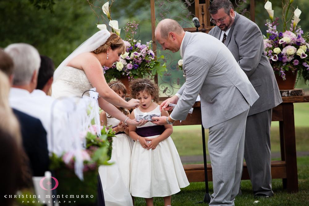 Butterfly Release Wedding CeremonyRebekah Matt Edgewood Country Club Pittsburgh Wedding Photography-17