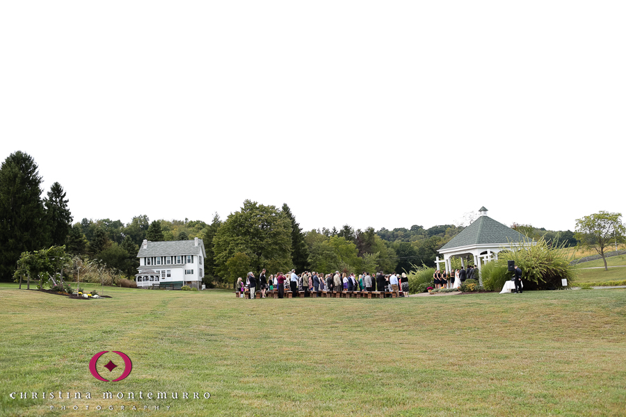 Lingrow Farms Wedding Ceremony Pittsburgh Wedding Photography