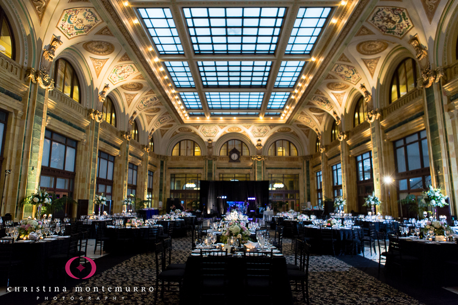 Black And White Wedding Details Wedding Reception At The