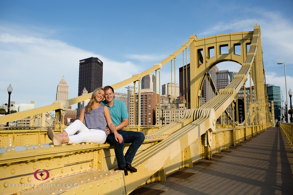 Jenna and Kit - engagement photos on Pittsburgh's North ...