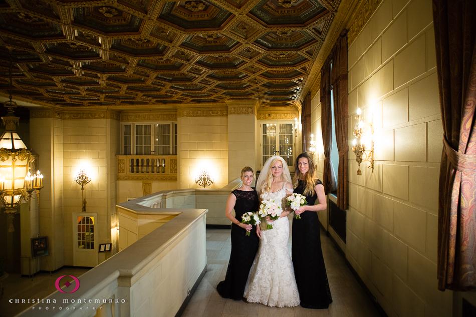 Bridal Portrait Omni William Penn Hotel Mezzanine Pittsburgh Wedding Photography