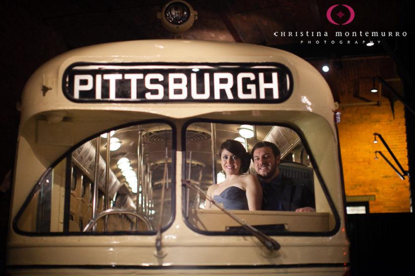 Heinz History Center Trolley Wedding Reception