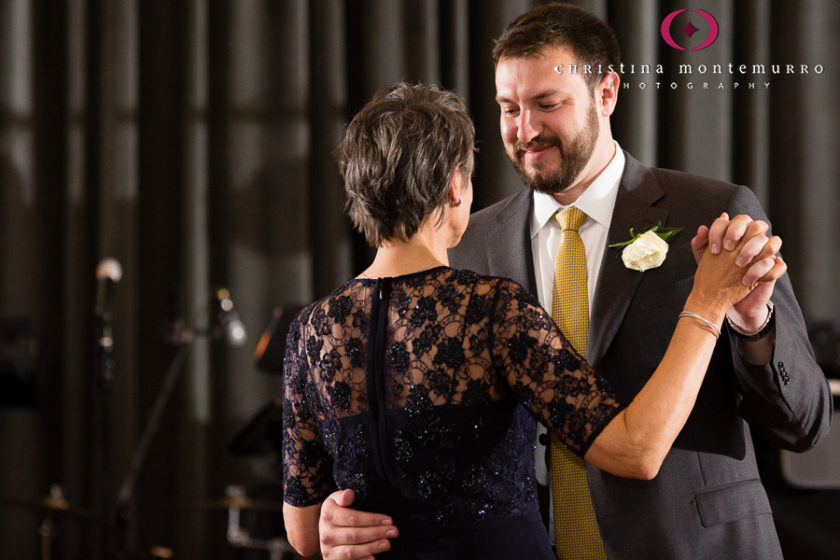 Kimpton Hotel Monaco Pittsburgh Wedding Photos Sheffield Ballroom Reception Mother Son Dance